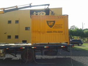 Locação Conteiner UP Rental Rio PReto SP